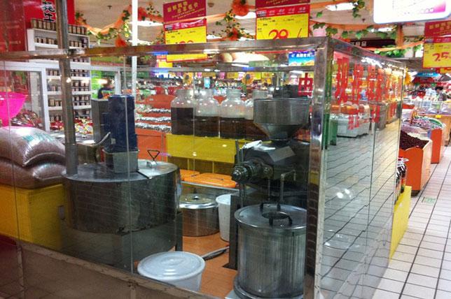 广西南宁市超市现榨现卖模式
