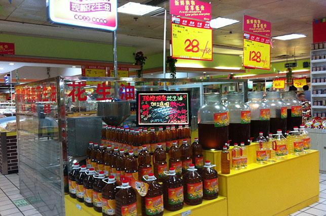 广西南宁市客户案例——超市现榨现卖模式